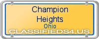 Champion Heights board